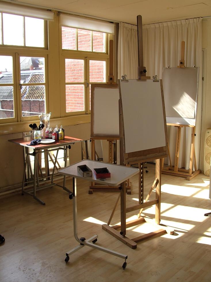 tekencursus, schildercursus, Groningen, studentenkorting, stadjerspas