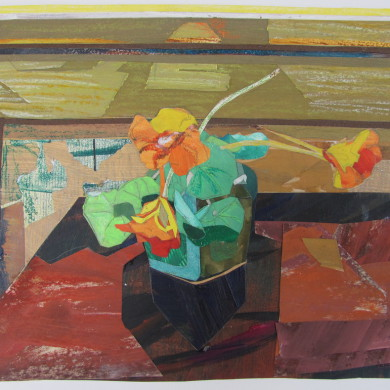 Oostindische kers | 2014 | collage | 27 x 23 cm