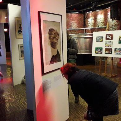 overzichtsfoto van de expositie